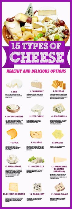 18 Delicious Types of Cheese To Try - 15 Different Types of Cheese For Your Cheese Platter Wine Cheese, Cheese Platters, Food Platters, Gourmet Cheese, Nutrition Articles, Kids Nutrition, Brie Cheese Recipes, Real Food Recipes, Mascarpone