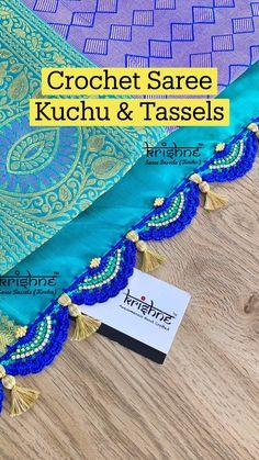 Saree Tassels Designs, Saree Kuchu Designs, Silk Saree Blouse Designs, Fancy Blouse Designs, Wedding Silk Saree, Saree Trends, Bollywood Saree, Pink Saree, Indian Dresses