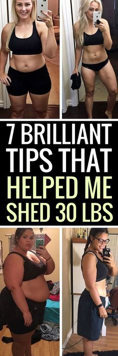 7 brilliant tips that helped me lose 30 pounds.
