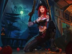 Miss Fortune, Online Game, Guns, League Of Legends Wallpaper, 6311x3818, Hd Image, Picture, 7ca72e