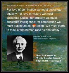 Bertrand Russell.