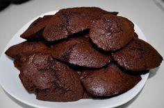 Les madeleines au chocolat de Christelle