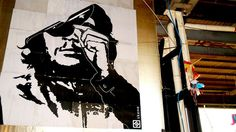 che, sin titulo, skene, ex cinodromo, roma 2013,  poster art, urban art, poster art, graphic