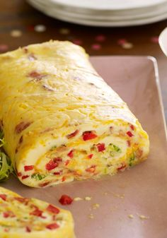 Bacon Omelet Roll with Salsa — The only guac recipe you'll ever need. Four ingredients, 10 minutes and the party's most popular dip is done. Don't forget the lime—its zing makes the difference.