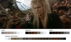 OMG- movies in color!!!! Love this! Request Week #3 - primaniallgirlLabyrinth, 1986Cinematography: Alex Thomson