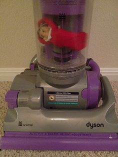 """Clearly Candace: 2011 Adventures of Kelvin The Elf - """"This Sucks"""" in the vacuum cleaner"""