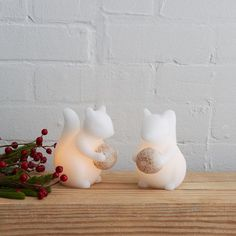 Flameless Candles - Squirrel | West Elm - essential obviously