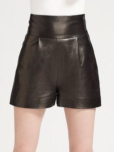 YSL-leather-shorts-1950.jpg 396×528 pixels