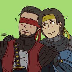 Kenshi and Takeda