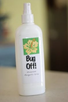 Natural bug spray recipe - this blog also has awesome early childhood activities using things around the house. Love!