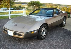 Example of Light Bronze paint on a 1985 GM Corvette