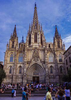Catedral de Barcelona, España / All things Europe : Photo