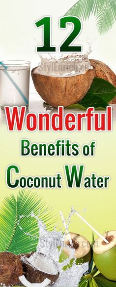 We all know that #CoconutWater is a refreshing drink. But, are you aware about the #HealthBenefits of Coconut Water? Surprised? Yes, it is an affordable drink that will do wonders to your health and body! Read here to know more about the Benefits of Coconut Water.