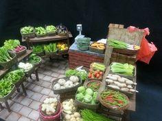 Vege store miniature ..Yenji