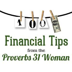 Money Saving Tips from the Proverbs 31 Woman Free Download