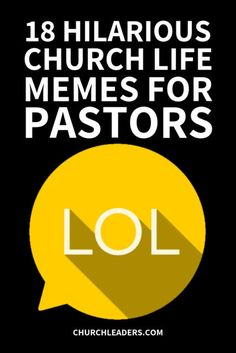 """We gathered 18 of our favorite """"Hilarious Church Life Memes for Pastors"""" because, let's be honest, we know you've seen things! Church Memes, Church Humor, Pastor Appreciation Quotes, Jesus Is My Friend, Small Group Bible Studies, Christian Humor, Christian Gifts, Pastors Wife, Worship Leader"""