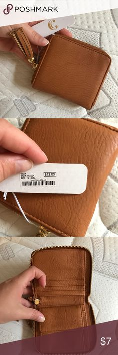 Charming Charlie wallet New with tags- great size for small purse. Charming Charlie Bags Wallets