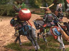 Samurai, Ancient Aztecs, Kamakura, Army, Miniatures, Christmas Ornaments, Holiday Decor, Painting, Gi Joe