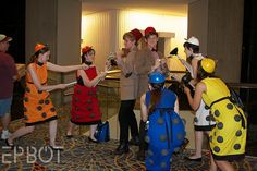 A Dr. Who dress up party