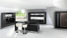 'emotionNOVA' kitchen by Nobilia Ranger, New Kitchen Designs, Kitchen Ideas, Latest House Designs, Bespoke Kitchens, House Windows, Clever Diy, Home Improvement Projects, Interior Inspiration
