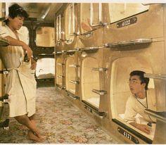 Capsule Hotel, Tokyo 1980s