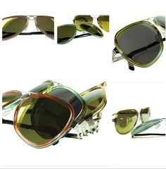 """ByWP  www.bywp.de  ByWP - Très Chic Inlay Water Colored Sunglasses - """" Made in Germany """" available @ prestigious stores global ! Stay tuned !"""