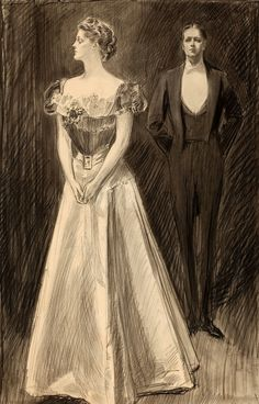 Illustration by Charles Dana Gibson