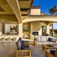 Soulmate24.com Ocean Front Spanish Estate in Malibu #California #cali. Hit… #architecturelovers #mansionhomes #estate #realestate Mens Style