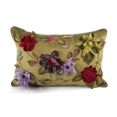 Shop Greengage Floral Lumbar Pillow from MacKenzie-Childs at Horchow, where you'll find new lower shipping on hundreds of home furnishings and gifts. Sofa Pillows, Throw Pillows, Cushions, Best Pillow, Funky Furniture, Lumbar Pillow, Pillow Covers, Sewing Projects, Children