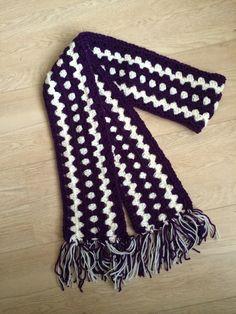 Granny stripe sjaal voor Lieke