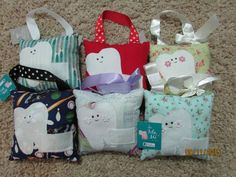 Tooth Fairy Pillows 15x15cm- Variety of prints - Isla and Me Australia – Nest 2 Me Baby Carriers Australia