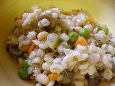 Barley Orzotto with White Beans and Vegetables