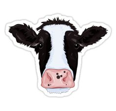 """Cow"" Stickers by Compassion Collective 