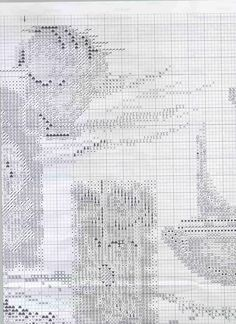 Cross stitch pattern,Toscana 7 of 9.