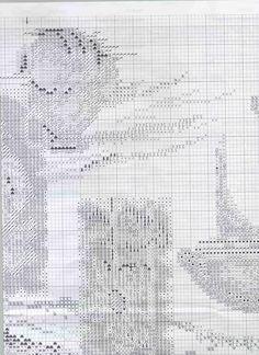 Cross stitch pattern,Toscana 7 of 9.