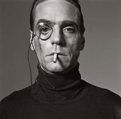 Jeremy Irons | by Michel Comte
