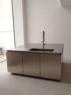 undermount sink with professional kitchen tap