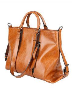2014-2015 Top Selling Womens Vintage Genuine Leather Handbags Large Tote Bag $26.99