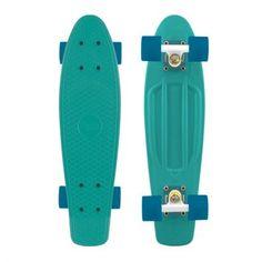 Penny Skateboards Organics Turquoise Blue