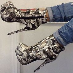 Shop and Discover Top Deals, Sexy Heels, Hot Wedges, Trendy Boots and Stylish Shoes Heeled Boots, Bootie Boots, Shoe Boots, Pretty Shoes, Beautiful Shoes, Sexy Heels, High Heels, Killer Heels, Girls Shoes