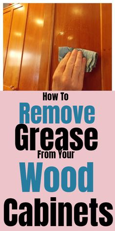 Newest Pics How to remove grease from wooden cabinets Ideas Trick # clean the oven with cooking dust and vinegar Range start dirty The oven could be cleaned Household Cleaning Tips, House Cleaning Tips, Deep Cleaning, Cleaning Hacks, Grease Cleaner, Grease Stains, Clean Kitchen Cabinets, Painting Kitchen Cabinets, Kitchen Cleaning
