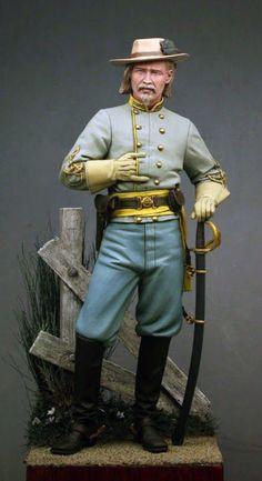 Confederate Cavalry officer, ca.1862