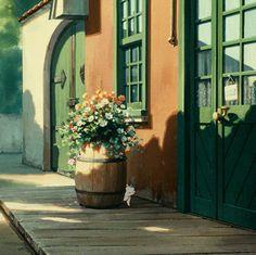 Studio Ghibli- Whisper of the Heart Art Studio Ghibli, Studio Ghibli Movies, Film Anime, Anime Gifs, The Cat Returns, Japon Illustration, Whatsapp Wallpaper, Aesthetic Gif, Hayao Miyazaki