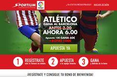 el forero jrvm y todos los bonos de deportes: Sportium Super cuota 6 Atletico gana Barcelona 12 ...