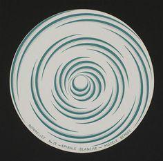 Rotorelief nª 12 - Spirale blanche - Modèle dépose, Marcel Duchamp