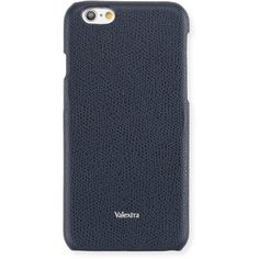 Valextra Leather iPhone 6/6s Case ($245) ❤ liked on Polyvore featuring men's fashion, men's accessories, men's tech accessories, black, men bags and mens leather accessories
