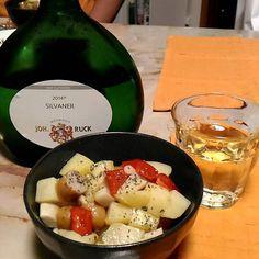 いただき物のドイツワイン絶品です()v