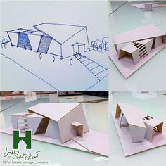Like times, 22 comments – HARRA Architecture Education IRAN ( … - Architecture Folding Architecture, Maquette Architecture, Concept Models Architecture, Architecture Model Making, Conceptual Architecture, Architecture Concept Drawings, Pavilion Architecture, Education Architecture, Seattle Architecture