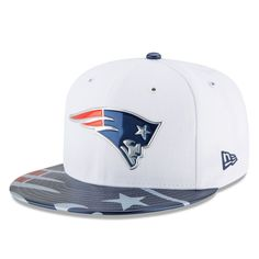 New England Patriots New Era Youth 2017 NFL Draft Official On Stage 59FIFTY  Fitted Hat - White a1fefec1df0