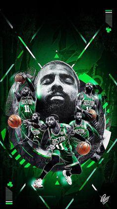 Ideas Basket Ball Nba Kyrie Irving For 2019 Celtics Basketball, Basketball Posters, Basketball Art, Basketball Pictures, Basketball Legends, Irving Wallpapers, Nba Wallpapers, Kyrie Irving Celtics, Nba Pictures